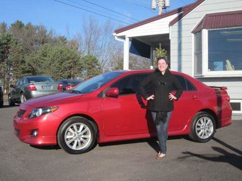 2009 Toyota Corolla for sale at GEG Automotive in Gilbertsville PA