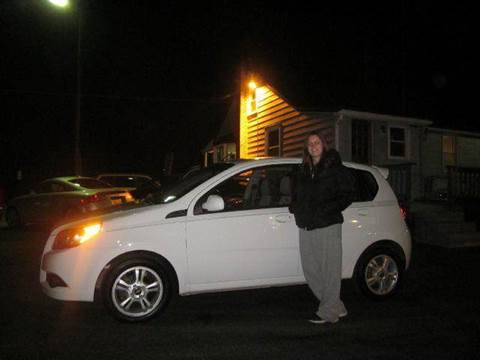 2011 Chevrolet Aveo for sale at GEG Automotive in Gilbertsville PA