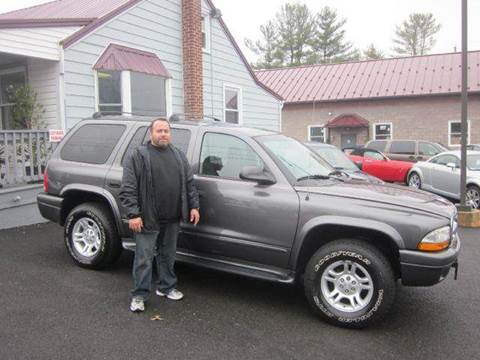 2002 Dodge Durango for sale at GEG Automotive in Gilbertsville PA