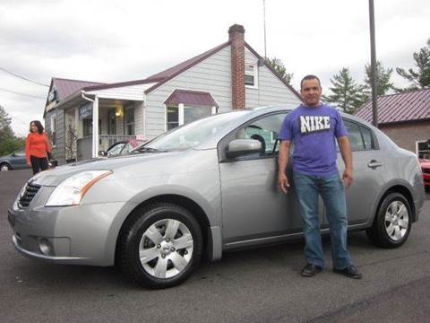 2008 Nissan Sentra for sale at GEG Automotive in Gilbertsville PA