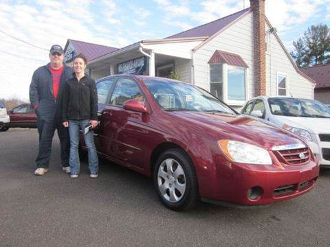 2006 Kia Spectra for sale at GEG Automotive in Gilbertsville PA