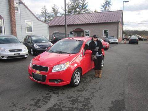 2010 Chevrolet Aveo for sale at GEG Automotive in Gilbertsville PA
