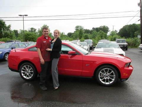 2010 Ford Mustang for sale at GEG Automotive in Gilbertsville PA