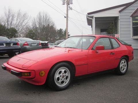 1987 Porsche 924 for sale at GEG Automotive in Gilbertsville PA