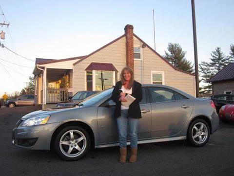 2009 Pontiac G6 for sale at GEG Automotive in Gilbertsville PA