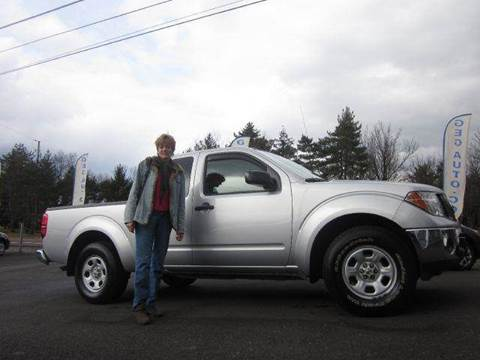 2008 Nissan Frontier for sale at GEG Automotive in Gilbertsville PA