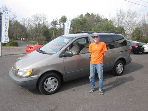 1999 Toyota Sienna for sale at GEG Automotive in Gilbertsville PA