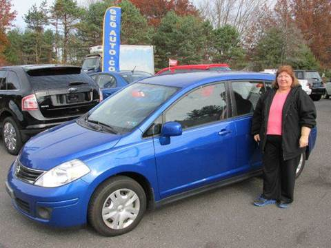 2011 Nissan Versa for sale at GEG Automotive in Gilbertsville PA