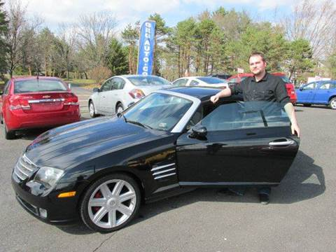 2004 Chrysler Crossfire for sale at GEG Automotive in Gilbertsville PA