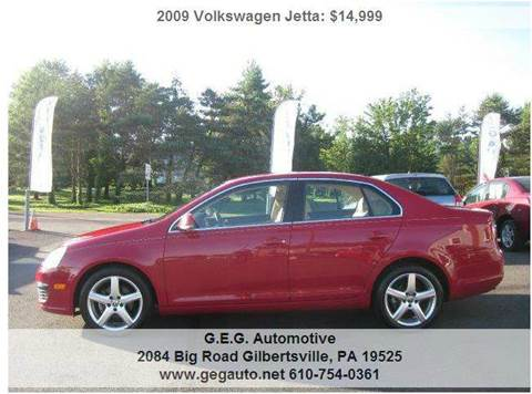 2009 Volkswagen Jetta for sale at GEG Automotive in Gilbertsville PA