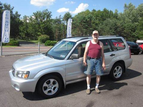 2003 Subaru Forester for sale at GEG Automotive in Gilbertsville PA