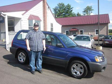 2004 Subaru Forester for sale at GEG Automotive in Gilbertsville PA