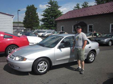 2003 Chevrolet Cavalier for sale at GEG Automotive in Gilbertsville PA