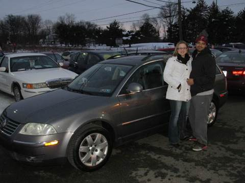 2005 Volkswagen Passat for sale at GEG Automotive in Gilbertsville PA
