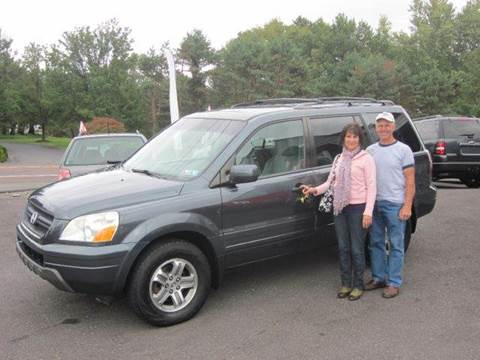 2005 Honda Pilot for sale at GEG Automotive in Gilbertsville PA