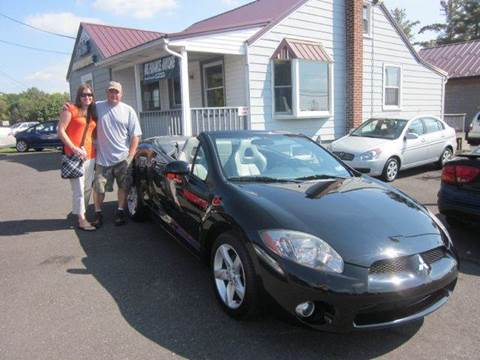 2007 Mitsubishi Eclipse Spyder for sale at GEG Automotive in Gilbertsville PA