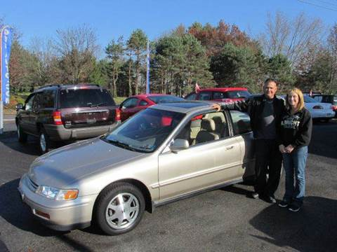 1994 Honda Accord for sale at GEG Automotive in Gilbertsville PA