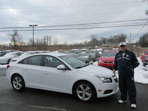 2012 Chevrolet Cruze for sale at GEG Automotive in Gilbertsville PA