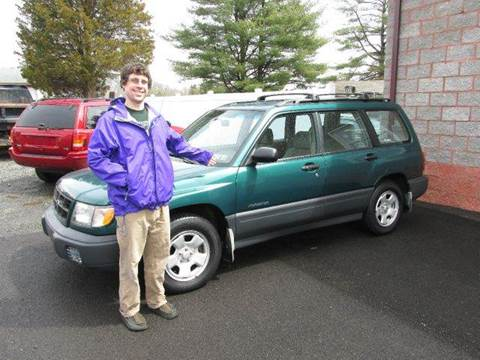 1999 Subaru Forester for sale at GEG Automotive in Gilbertsville PA