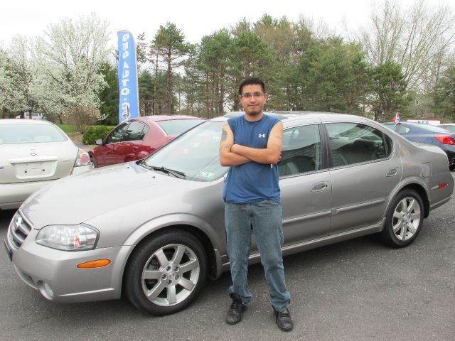 2002 Nissan Maxima GLE   Gilbertsville PA