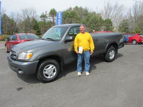 2003 Toyota Tundra for sale at GEG Automotive in Gilbertsville PA