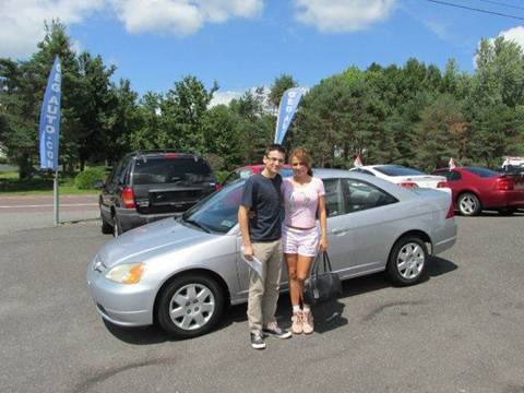2002 Honda Civic for sale at GEG Automotive in Gilbertsville PA