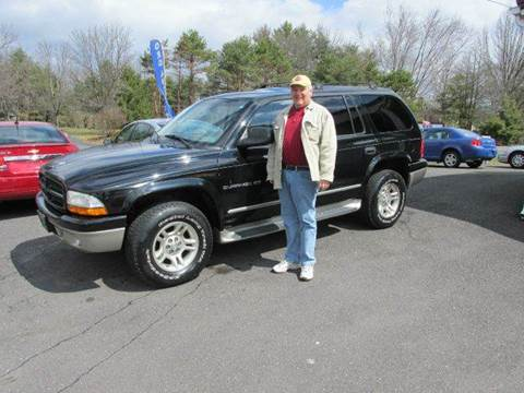 2001 Dodge Durango for sale at GEG Automotive in Gilbertsville PA