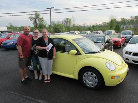 2001 Volkswagen Beetle for sale at GEG Automotive in Gilbertsville PA