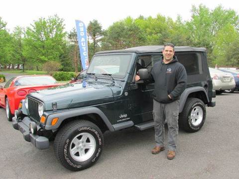 2005 Jeep Wrangler for sale at GEG Automotive in Gilbertsville PA