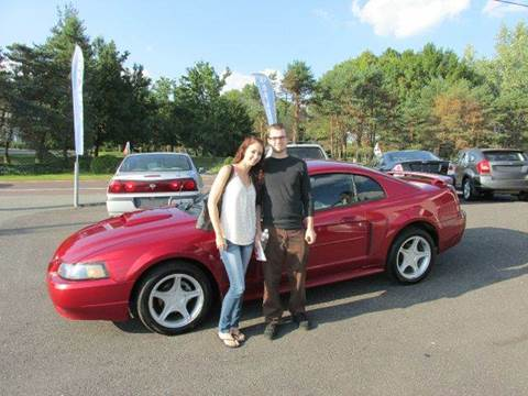 2004 Ford Mustang for sale at GEG Automotive in Gilbertsville PA
