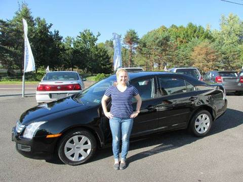 2006 Ford Fusion for sale at GEG Automotive in Gilbertsville PA