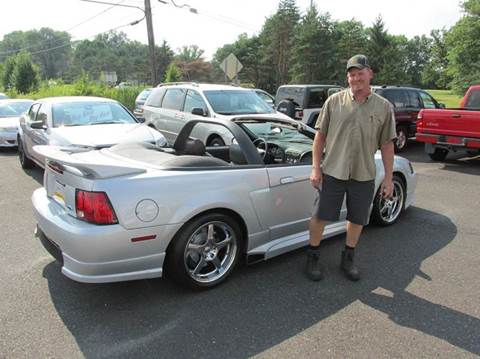 2002 Ford Mustang for sale at GEG Automotive in Gilbertsville PA
