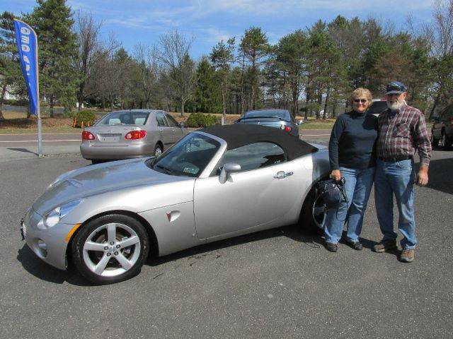 2006 Pontiac Solstice for sale at GEG Automotive in Gilbertsville PA