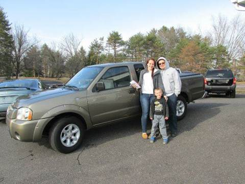 2002 Nissan Frontier for sale at GEG Automotive in Gilbertsville PA