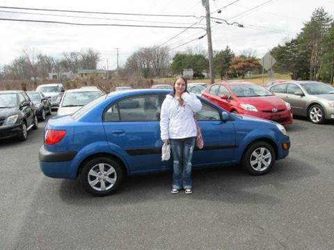 2008 Kia Rio for sale at GEG Automotive in Gilbertsville PA