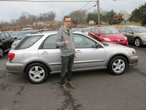 2002 Subaru Impreza for sale at GEG Automotive in Gilbertsville PA