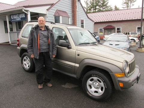 2007 Jeep Liberty for sale at GEG Automotive in Gilbertsville PA