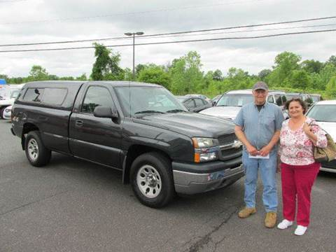 2005 Chevrolet Silverado 1500 for sale at GEG Automotive in Gilbertsville PA