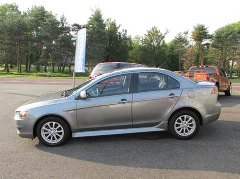2012 Mitsubishi Lancer for sale at GEG Automotive in Gilbertsville PA