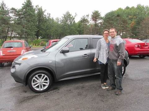 2012 Nissan JUKE for sale at GEG Automotive in Gilbertsville PA