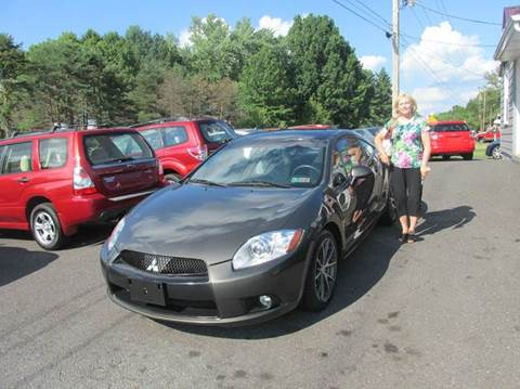2011 Mitsubishi Eclipse for sale at GEG Automotive in Gilbertsville PA