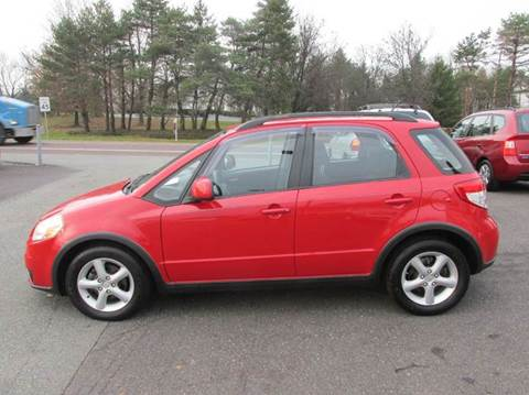 2007 Suzuki SX4 Crossover for sale at GEG Automotive in Gilbertsville PA