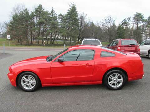 2014 Ford Mustang for sale at GEG Automotive in Gilbertsville PA
