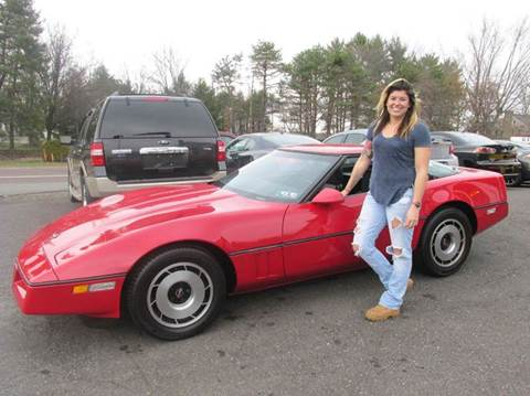 1984 Chevrolet Corvette for sale at GEG Automotive in Gilbertsville PA