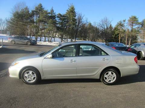 2002 Toyota Camry for sale at GEG Automotive in Gilbertsville PA