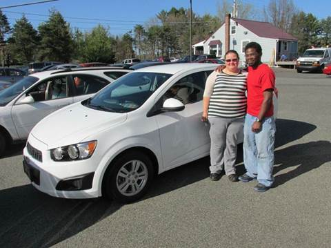 2014 Chevrolet Sonic for sale at GEG Automotive in Gilbertsville PA
