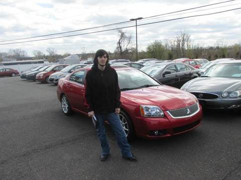2012 Mitsubishi Galant for sale at GEG Automotive in Gilbertsville PA
