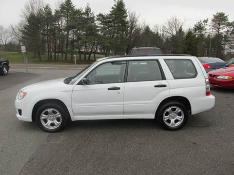 2007 Subaru Forester for sale at GEG Automotive in Gilbertsville PA