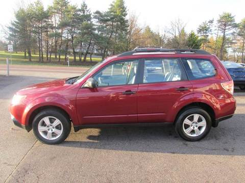 2013 Subaru Forester for sale at GEG Automotive in Gilbertsville PA