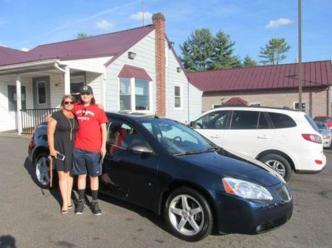 2008 Pontiac G6 for sale at GEG Automotive in Gilbertsville PA